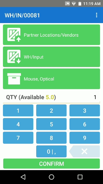 android mobile app for barcode scanners