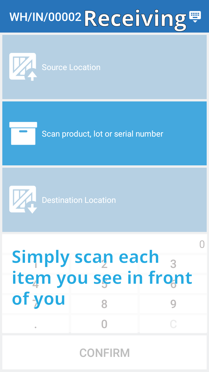 how to set up a barcode system